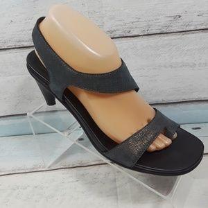 DONALD J Pliner Heeled Sandals Size 9.5 N